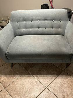 Contemporary Fabric Love Seat for Sale in Cape Coral,  FL