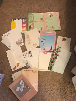 Vintage stationary sets (mostly cats and butterflies ) for Sale in Scottsdale, AZ