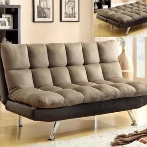 Ceolin Collection futon /sofa bed $489.00 Hot Buy! Super Comfortable ! Free Delivery 🚚 for Sale in Ontario, CA
