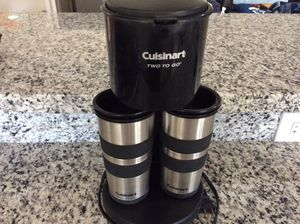 Cuisinart two to go drip coffee maker - Thunderbird and Central for Sale in Phoenix, AZ