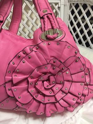 Pink bolted flower purse for Sale in Tacoma, WA