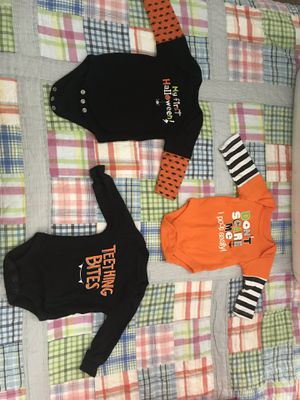 Newborn Halloween onesies for Sale in Richmond Heights, MO