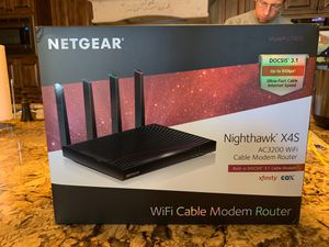 NETGEAR Gaming High Capacity Router and Modem for Sale in Mesa, AZ