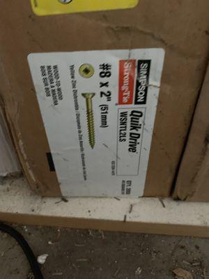 2 cajas nuevas de tornillos for Sale in Phoenix, AZ