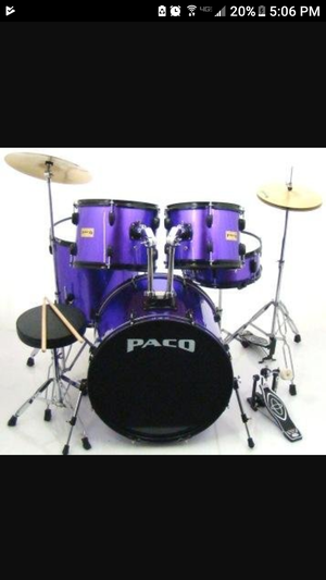 Pack 5 piece drum set for Sale in Canal Winchester, OH