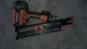 RIGID FRAMING NAILER LIKE NEW for Sale in Columbus, OH
