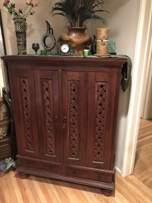 Antique Wooden Armoire for sale for Sale in Los Angeles, CA
