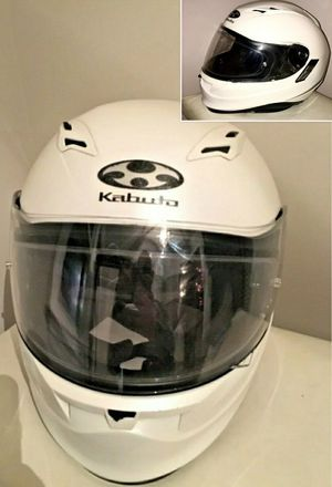 Kabuto Kamui Full Face Helmet for StreetBike Motorcycle w Visor and Tint for Sale in Raleigh, NC