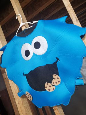 Cookie monster one size fits most costume dress up for Sale in Snohomish, WA