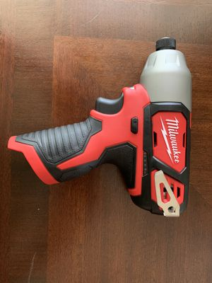 Milwaukee M12 12-Volt Lithium-Ion Cordless 1/4 in. Hex Impact (Tool-Only) for Sale in El Camino Village, CA