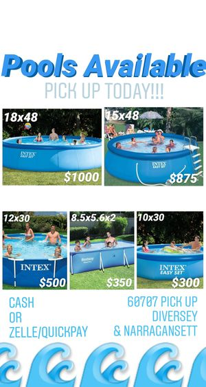 Swimming Pools IN STOCK!! for Sale in Chicago, IL