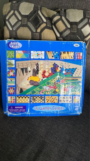Vintage Just Kidz 16 Games Center for Sale in Ithaca, NY