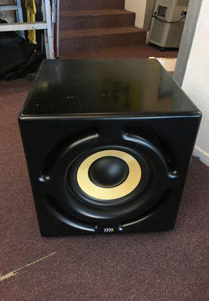 KRK systems speaker Rokit 12S HO pro audio mastering bass booster speaker BCP007447 for Sale in Huntington Beach, CA