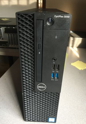 Dell Optiplex 3050 SFF Desktop PC, Intel i5-6500 3.2GHz 4 Core, 8GB DDR4, 256GB SSD, WiFi, Win 10 Pro, Keyboard, Mouse for Sale in Catonsville, MD