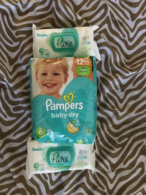 Pampers for Sale in March Air Reserve Base, CA