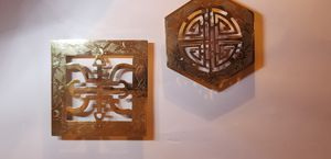 2 antique trivets marked CHINA for Sale in Yakima, WA