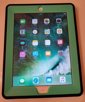 iPad 4th gen with case for Sale in Lakeland, FL