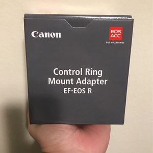 Canon Control Ring EF - EOS R Mount Adapter for Sale in Torrance, CA