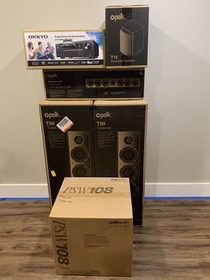 Polk surround sound system for Sale in Lancaster, PA
