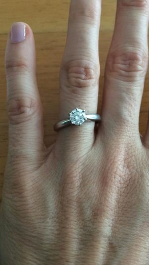 Engagement Ring with Platinum Setting for Sale in Miami, FL