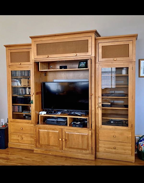 Ethan Allen TV Stand and Entertainment Center