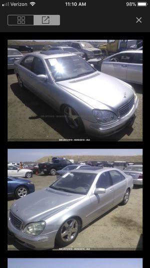 2004 Mercedes Benz S430 parts for Sale in Rio Linda, CA