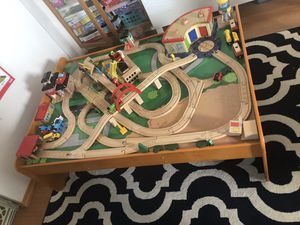 Thomas the train wooden tracks - new - kids toys - 100s of items Most of them are not used- some are still in package for Sale in Edison, NJ