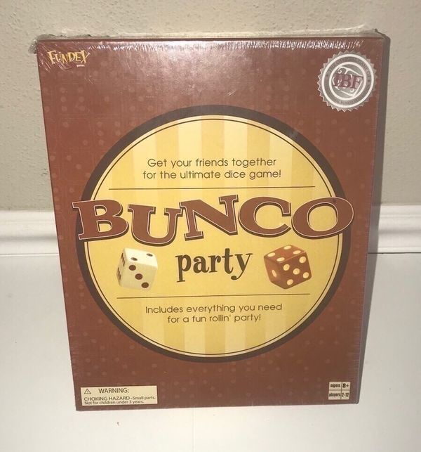 New Sealed Bunco Party Game just $7