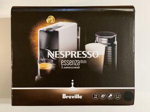 Nespresso Essenza Mini Espresso Machine with Aeroccino Milk Frother by Breville BEC250BLK1AUC1 for Sale in Garden Grove, CA