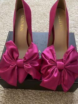 Azalea Wang Bow Slipper Heels for Sale in Hampton,  VA