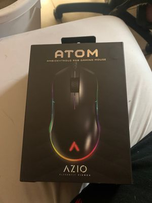 Atom/Ambidextrous RGB Gaming Mouse/ Brand New Out the box/ for Sale in Sacramento, CA