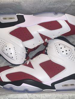Jordan Retro 6 'Carmine' Size 10 for Sale in Humble,  TX