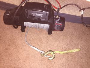 Traveller 9000lb winch like new for Sale in Orient, OH