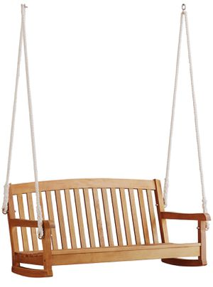 Portland Porch swing with green cushion for Sale in Atlanta, GA