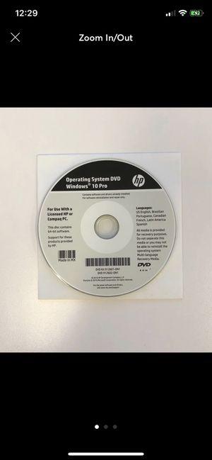 Windows 10 64bit Operating System CD for Sale in North Bergen, NJ