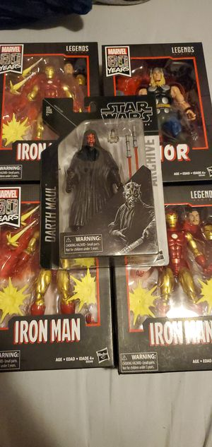 MARVEL thor /iron man collectibles for Sale in Long Beach, CA