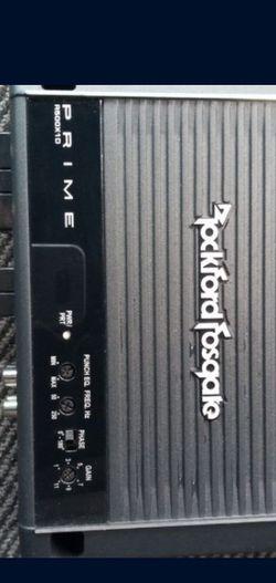 ROCKFORD FOSGATE PRIME 500 WATTS for Sale in Dallas,  TX