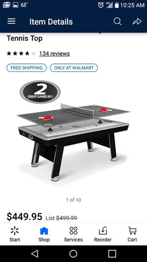 """NEW 80"""" Air hockey table / tennis table for Sale in Spring, TX"""