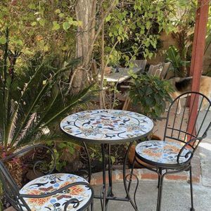 Multi Color Bistro Table/Outdoor Table Set $140 Firm!! for Sale in Simi Valley, CA