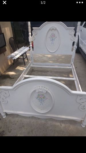 Antique bed holder for Sale in Riverside, CA