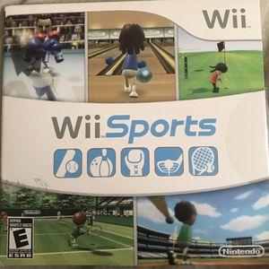 Wii sports for Sale in Phoenix, AZ