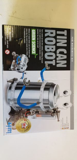 Tin can robot kit for Sale in East Wenatchee, WA