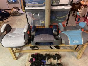 Booster seats! for Sale in Middleton, MA