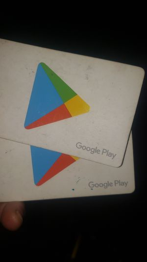 2 $100 google play cards for Sale in Spring Hill, FL