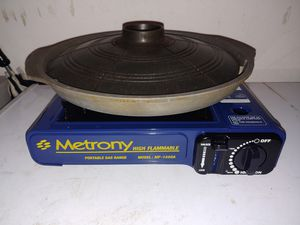 Gas burner with stone grill for Sale in Dallas, TX
