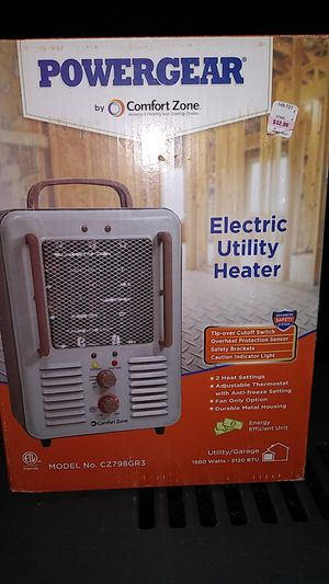Power gear multi purpose utility heater fan for Sale in Pine River, MN