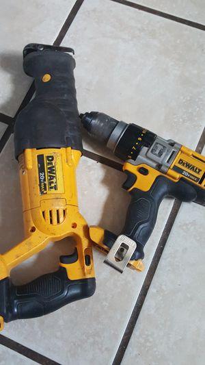 Devalt sawzal and hammer dril for Sale in Odessa, TX