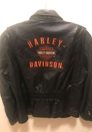 Harley Davidson jacket size xl for women for Sale in Jersey City, NJ