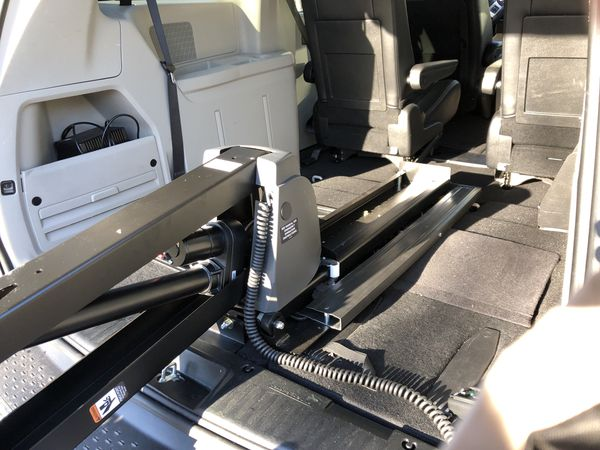 Handicapped equipped Gold 2015 Chrysler Town and Country Mini-van
