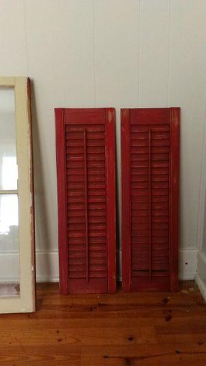 Decorative shutters for Sale in Ashland City, TN